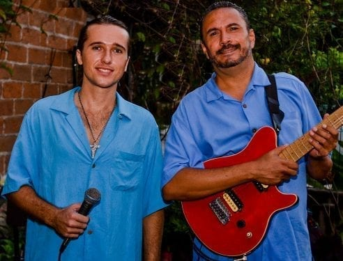 Singer-songwriters Joby Hernandez and Tongo