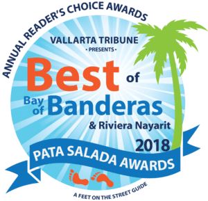 Winner of the 2018 Best of Bay of Banderas Pata Salada Awards: Best Traditional Mexican Cuisine & Best Margarita