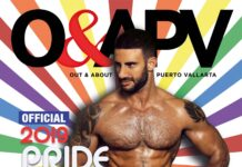 2019 Official Puerto Vallarta Pride Guide featuring Eliad Cohen
